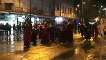 Les fanfares au défilé de Saint-Nicolas à Saint-Dié-des-Vosges.