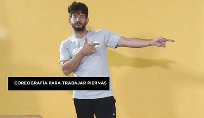 Coreografía con mucho ejercicio de piernas con Dani Miralles