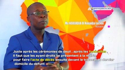 Succession Côte d'Ivoire: Que doivent faire les ayants droits après les funérailles ?