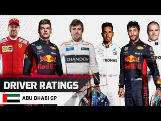 Driver Ratings - Abu Dhabi GP
