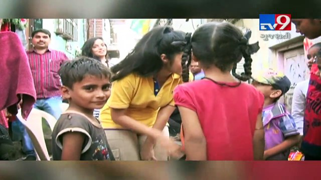 Small girl sets a big example and becomes a real life hero for society, Mumbai- Tv9