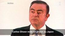 Inculpé, Carlos Ghosn reste en prison au Japon