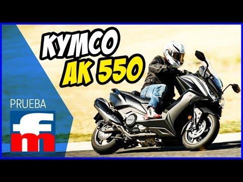 Prueba del KYMCO AK 550