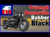 Prueba de la Triumph Bonneville Bobber Black