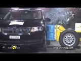 Seat Toledo Skoda Rapid Euro NCAP   2012   Crash test