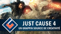 JUST CAUSE 4 : Un Grappin source de créativité   GAMEPLAY FR