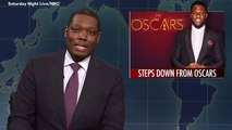 Michael Che Defends Kevin Hart On Saturday Night Live Amid Oscars Controversy