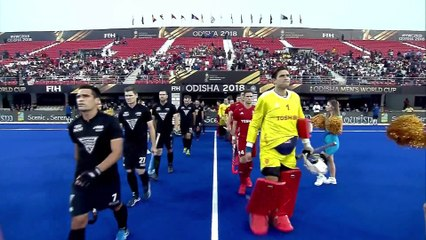 England vs New Zealand Highlights - Men's Hockey World Cup