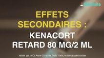 Kenacort Retard 80 mg/2 ml : des effets secondaires