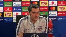 Valverde anticipates tough Tottenham match in UEFA Champions League