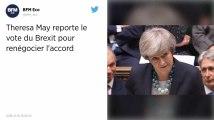 Brexit. Theresa May annonce le report du vote du Parlement britannique.