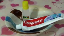 How to Make Slime Colgate Toothpaste and glue, Without Borax , Without Starch and Without Detergent