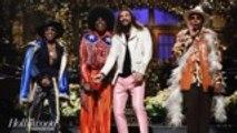 'SNL' Rewind: Jason Momoa Hosts, Plays Khal Drogo and Santa Claus | THR News