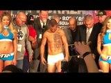 Vasyl Lomachenko vs Jose Pedraza WEIGH IN