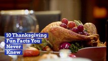 Ten Thanksgiving Fun Facts We Bet You Never Knew