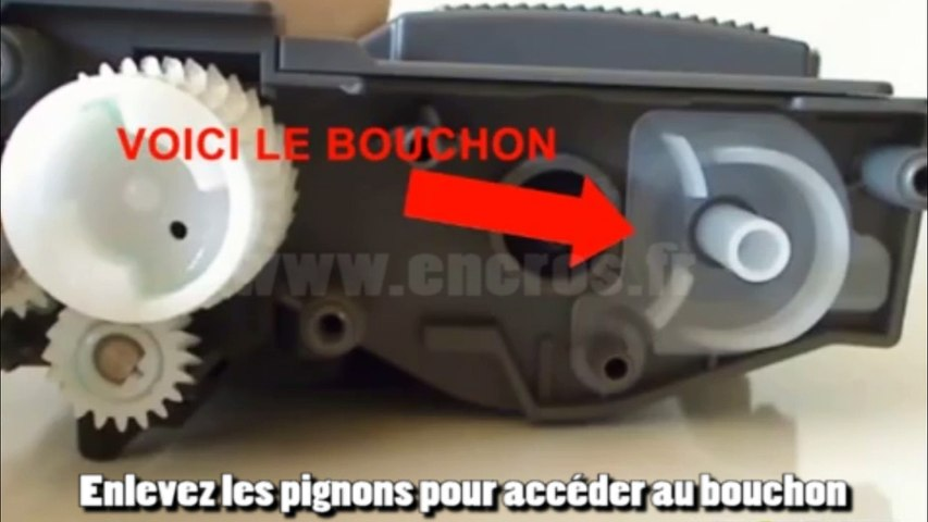 Comment recharger une cartouche laser Brother TN2320
