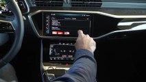 Die neue Audi A6 Limousine Infotainment system