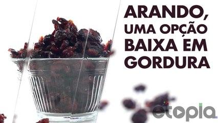 Cranberry, uma opção baixa em gordura