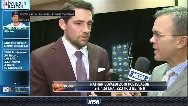 Nathan Eovaldi Happy To Be Returning To Red Sox  After World Series Run