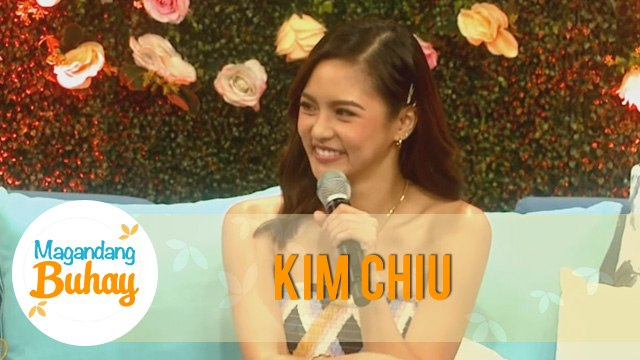 Magandang Buhay: Kim Chiu reveals that Xian gives her happiness and contentment