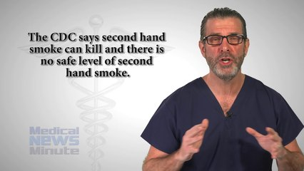 Second Hand Smoke Affects 1 in 4 Non-Smokers