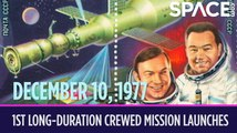 OTD in Space - Dec. 10: 1st Long-Duration Crewed Mission Launches to Salyut 6