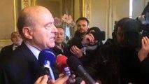 """Alain Juppé appelle les """"gilets jaunes"""" à """"accepter la main tendue"""" d'Emmanuel Macron"""