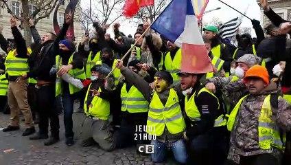 C8 / BANDE-ANNONCE / ENQUÊTE SOUS HAUTE TENSION  ÉDITION SPÉCIALE - GILETS JAUNES : QUAND LA FRANCE S'EMBRASE
