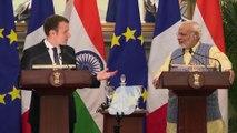 Déclaration conjointe du Président de la République, Emmanuel Macron et de Narendra Modi, Premier ministre de la République d'Inde à New Delhi