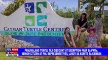 Panukalang travel tax discount at exemption para sa PWDs, senior citizen at PHL representatives, lusot na sa komite sa Kamara