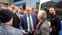 Rize Valisi Kemal Çeber, Silahlı Saldırıya Uğrayan Rize Emniyet Müdürü Altuğ Verdi'nin Şehit...
