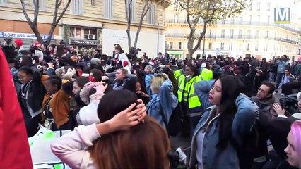 Les lycéens une nouvelle fois dans la rue pour manifester à Marseille