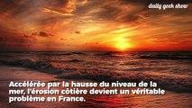À cause du réchauffement climatique, le littoral français recule