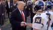 Trump At Exciting Army Vs. Navy Game
