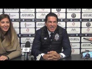 Il presidente Joe Tacopina in conferenza stampa post Venezia-Samb