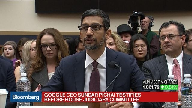Google Never Forgets 'Our American Roots,' CEO Pichai Says