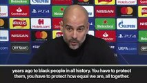Eng Sub: Pep Guardiola and Leroy Sane support Raheem Sterling