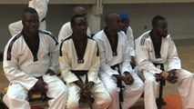 Karaté: taekwondo passage de grade qui marque la fin de la saison 2018