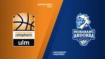 ratiopharm Ulm - MoraBanc Andorra Highlights | 7DAYS EuroCup, RS Round 9