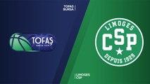 Tofas Bursa - Limoges CSP Highlights | 7DAYS EuroCup, RS Round 9
