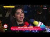 Victoria Ruffo reacciona ante ataques  a su hija en redes sociales | Sale el Sol
