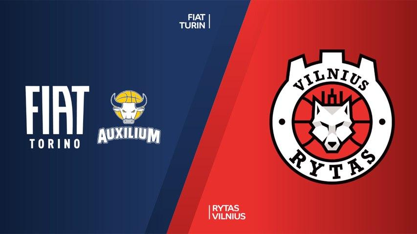 Fiat Turin - Rytas Vilnius Highlights | 7DAYS EuroCup, RS Round 9