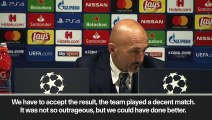 """Eng Sub: Spalletti says Inter """"lost the shape"""" in 1-1 draw against PSV Eindhoven"""