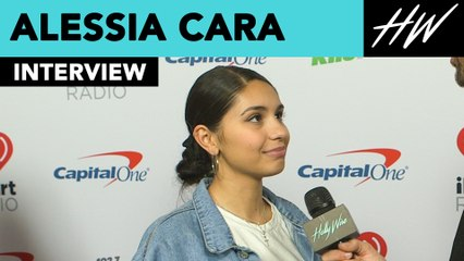 Alessia Cara Reveals Her New Years Resolution With Us!!