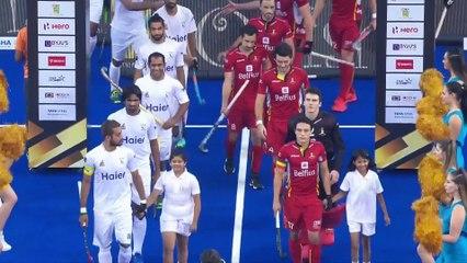 Belgium vs Pakistan Highlights - Men's Hockey World Cup