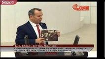 CHP Milletvekili Tanju Özcan FETÖ'cülerin meşhur yemeği 'Maklube'nin ismini yanlış söyledi.