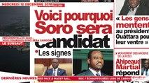 Le Titrologue du 12 Décembre 2018 : Présidentielles 2020, voici pourquoi Soro sera candidat