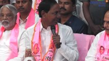 KCR Press Meet : KCR About TRS Party Leaders | Oneindia Telugu