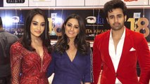 Naagin 3 team Surbhi Jyoti, Anita Hassanandani & Pearl Puri's stylish entry at ITA; Watch | Boldsky