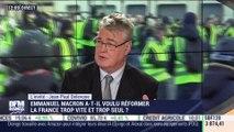 """""""Le lien entre progrès économique et progrès social est aujourd'hui remis en cause"""" , Jean Paul Delevoye, haut-commissaire en charge de la réforme des retraites – 12/12"""